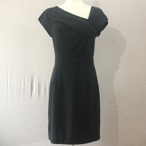 J.Crew Gray Origami Sheath Dress Size 4